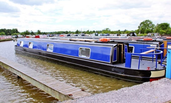 Kimberley, Narrowboat Cruise From Nantwich, Cheshire