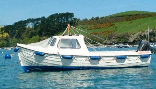 16' Cabin Boat Boat Hire In Salcombe