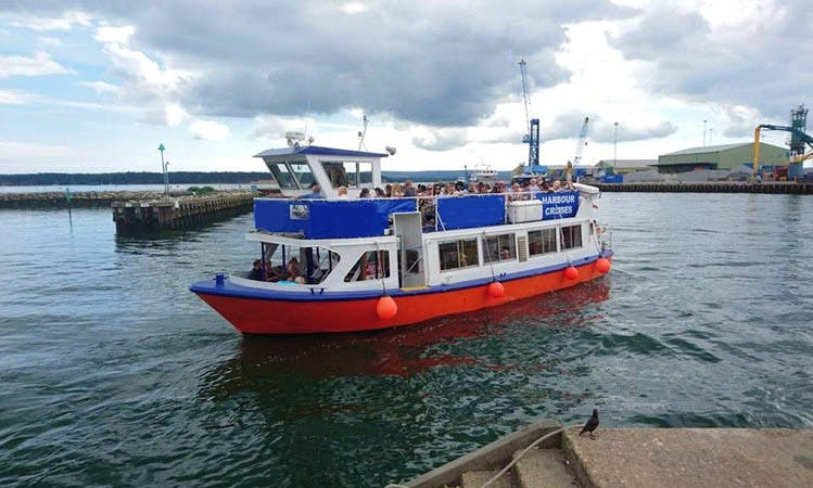 "River Cruises on ""Purbeck Gem"" Boat in Poole, England"