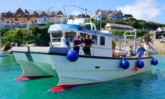 'atlantic Diver' Fishing Charter & Sea Safari In Newquay