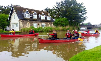 Canoeing Trips in Bude