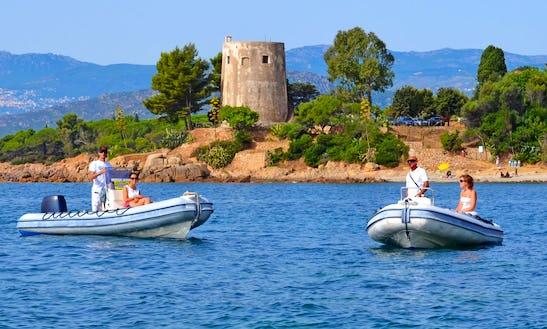 Rent Ondina 565 Rigid Inflatable Boat In Sardegna, Italy