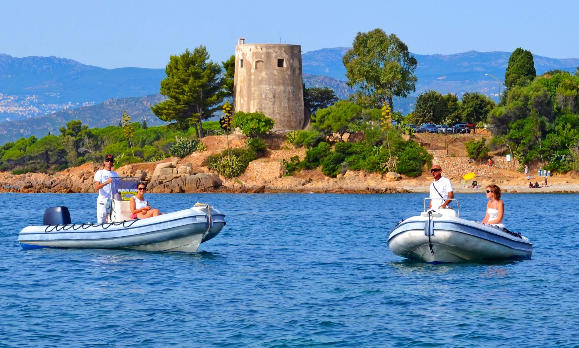 Rent Ondina 565 Rigid Inflatable Boat in Sardegna, Italy