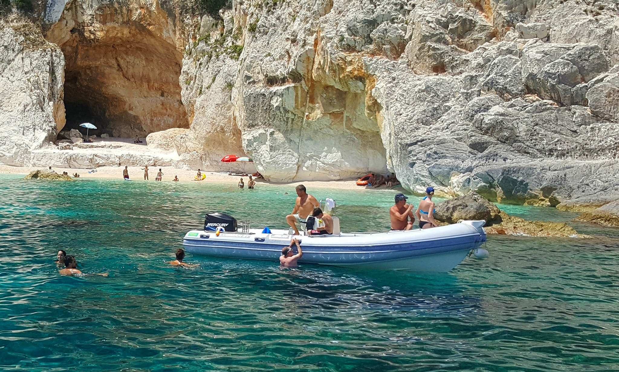 Rent 25' Flyer Rigid Inflatable Boat in Sardegna, Italy