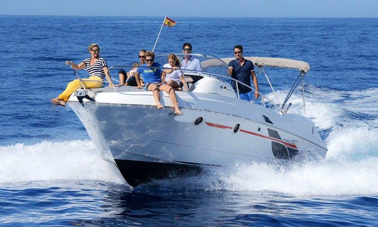 Beneteau Flyer 850 Sun Deck Charter in Costa Adeje, Tenerife