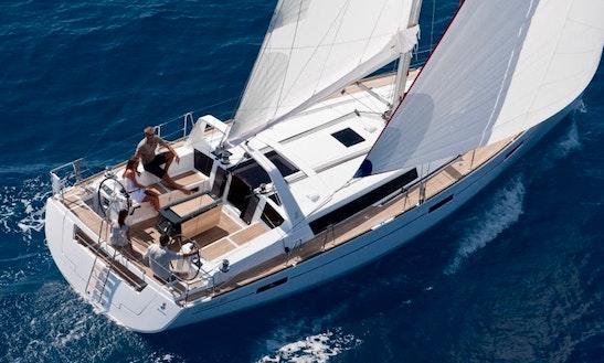 Oceanis 45 Cruising Monohull Rental In Richmond