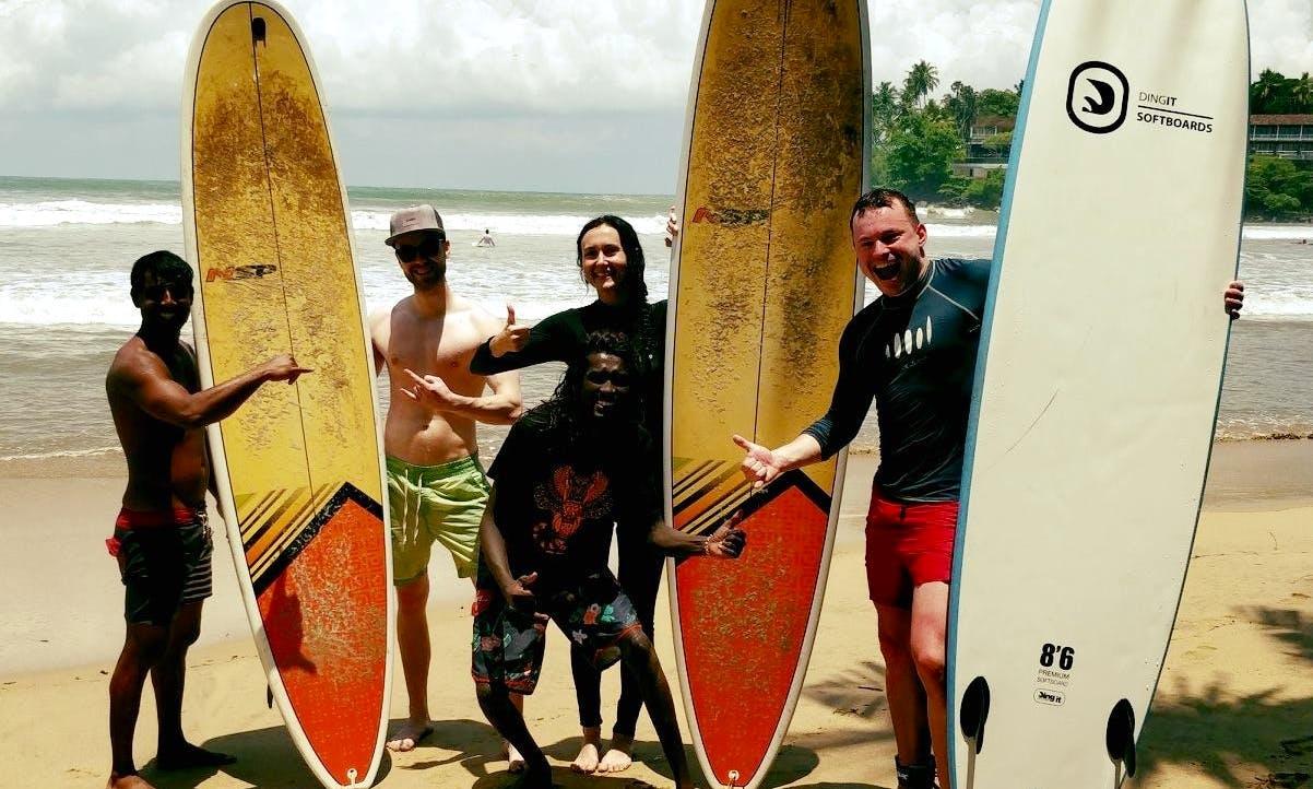 Hippie Surf Shool - Surf Lessons in Hikkaduwa