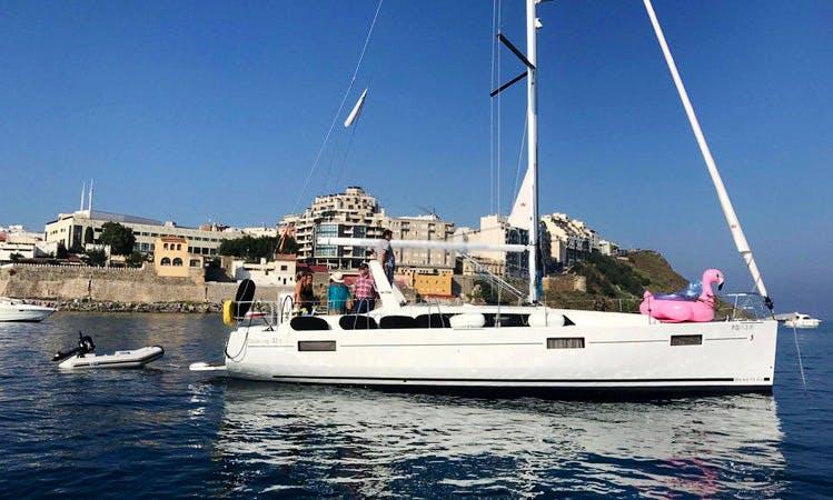 Oceanis 41.1 Sailing Yacht Charter in Benalmádena