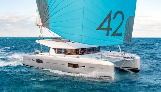Charter 42' Albertina - Lagoon Cruising Catamaran In Alimos, Greece