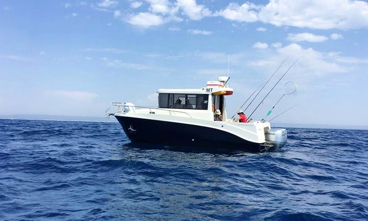Enjoy Fishing in Ponta Delgada, Portugal on 29' Rodman Ventura Cuddy Cabin