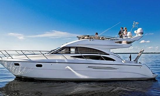 Charter 42' Princess Motor Yacht In Santorini, Greece