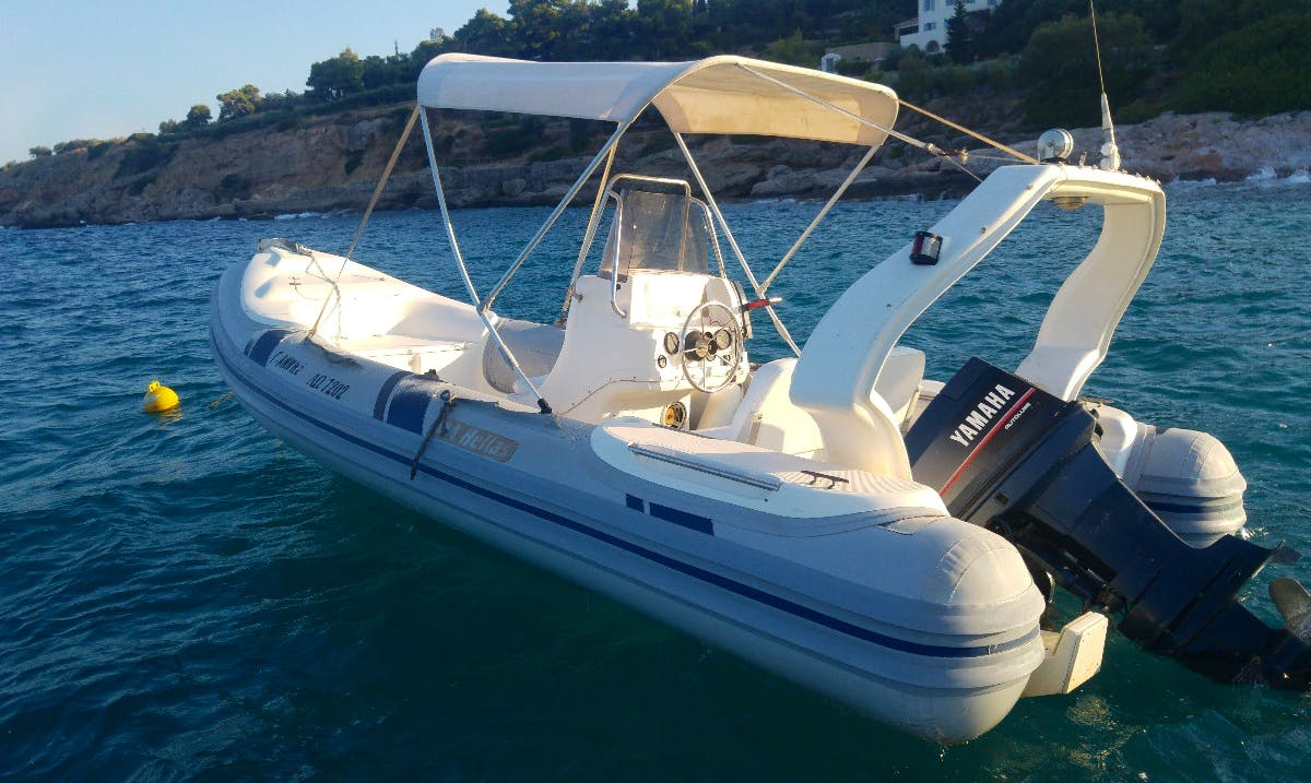 Charter a Rigid Inflatable Boat in Nisi, Greece