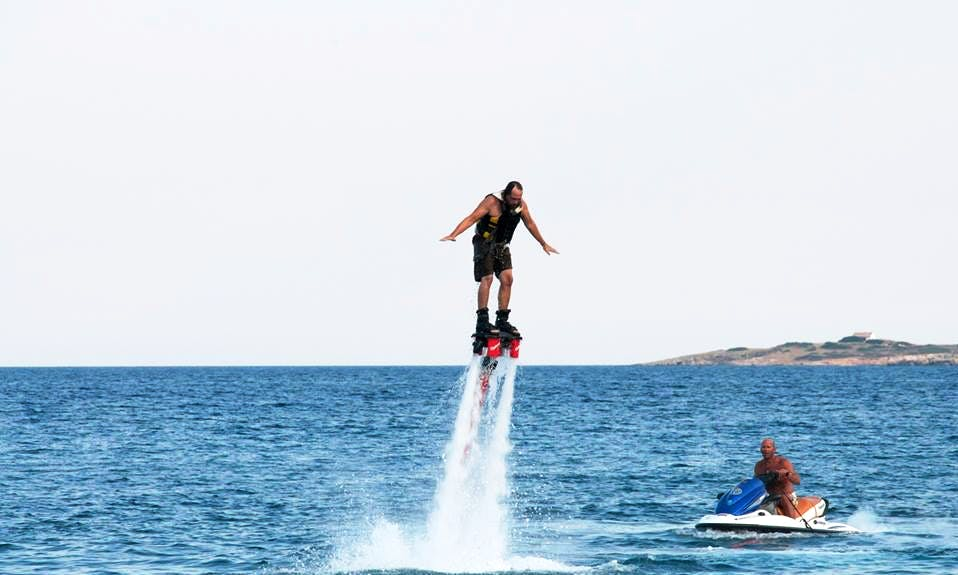 15 Minutes Mind Blowing Flyboarding Adventure in Nisi, Greece