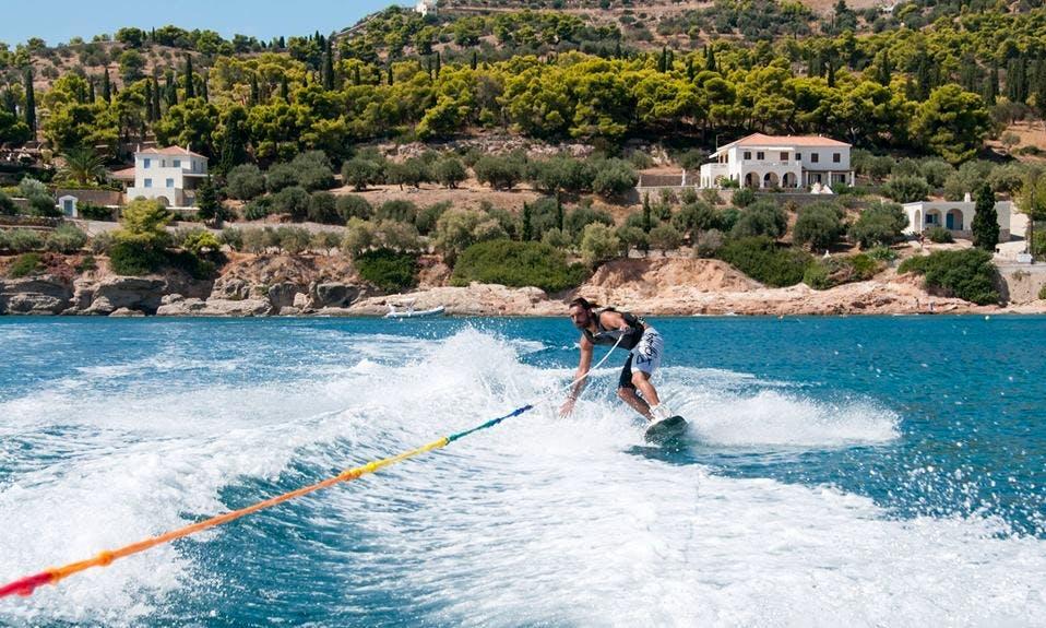 Enjoy Wakeboarding in Nisi, Greece