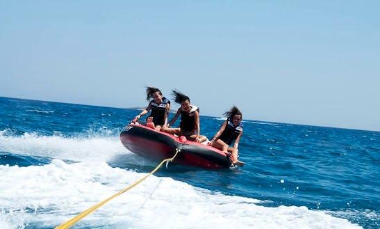 Enjoy Tubing In Nisi, Greece