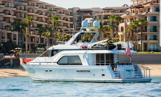 70ft Queen Ship Power Mega Yacht Charter In Cabo San Lucas, Mexico