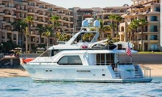 70ft Queen Ship Power Mega Yacht Charter in Cabo San Lucas, Mexico