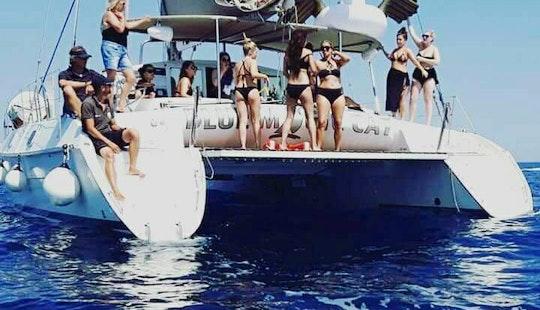 Cruising Catamaran Charter For 12 Person In Villasimius, Sardegna