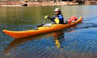 Enjoy Kayaking on Kampoos Lake, BC