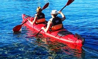 Double Kayak Rental on Kampoos Lake, BC