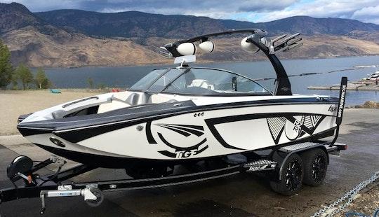Bayliner 180 Sports Bowrider On Kampoos Lake, Bc