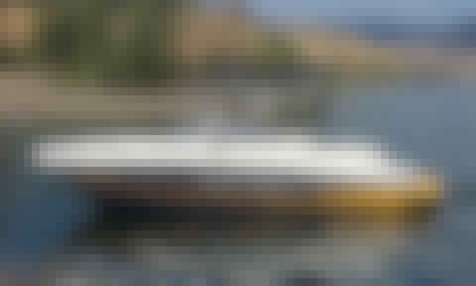 Rinker MTX 220 SS for 10 People on Kampoos Lake