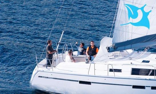 Sailing In Lajes Do Pico, Faial And São Jorge, Portugal