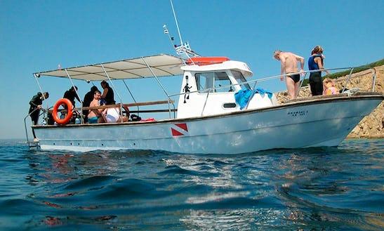 Scuba Diving In Sporades