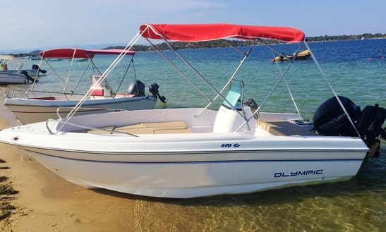 Olympic 490 Sx For Rent In Sithonia