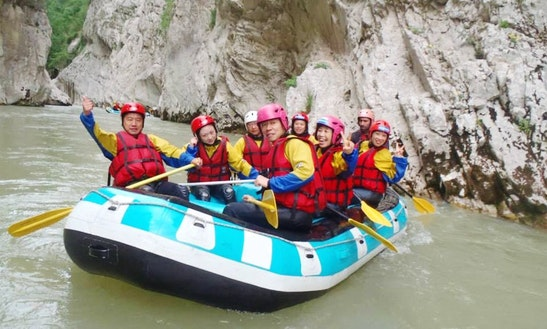 Rafting Trips In Grevena, Greece