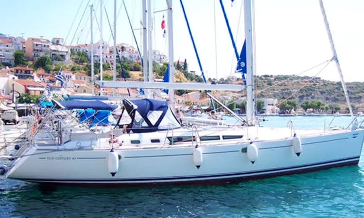 The Perfect Sailboat Charter in Nea Lampsakos, Greece