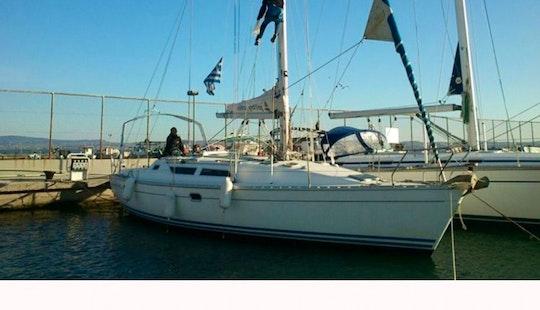 The Jeanneau Sun Odyssey 37.1 Sailing Yacht In Chalkidiki