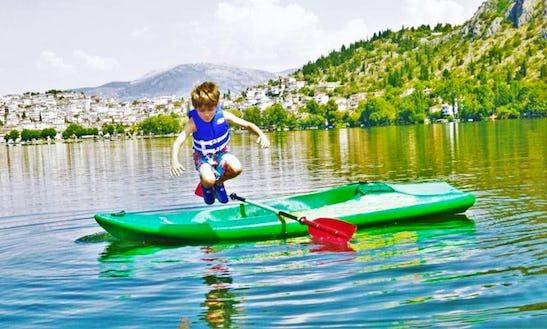 Unsinkable Canoe Rental In Kastoria, Greece