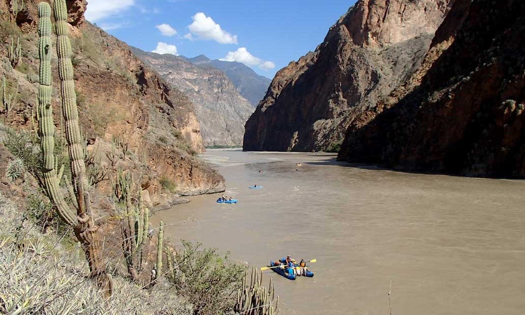 Marañón rafting expedition (Main Grand Canyon; Trujillo-based)