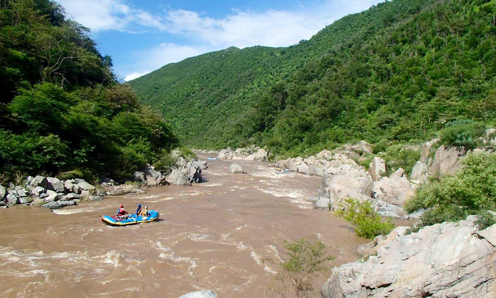 Aros rafting trip (and Mulatos-Aros) through Northern Jaguar Reserve