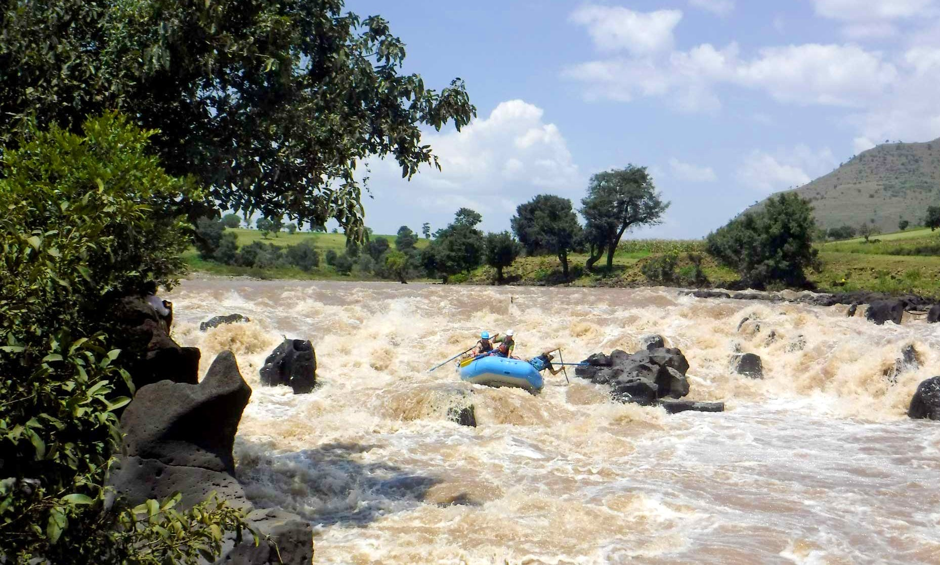 Blue Nile rafting expedition (Grand Canyon of the Nile - Upper)