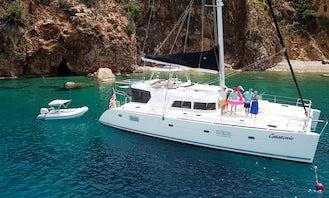 Luxury 51' Lagoon Catamaran on Long Island Sound