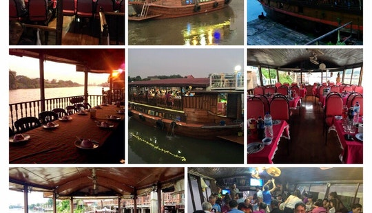 Enjoy A Beautiful Dinner Cruise In Ayutthaya, Thailand
