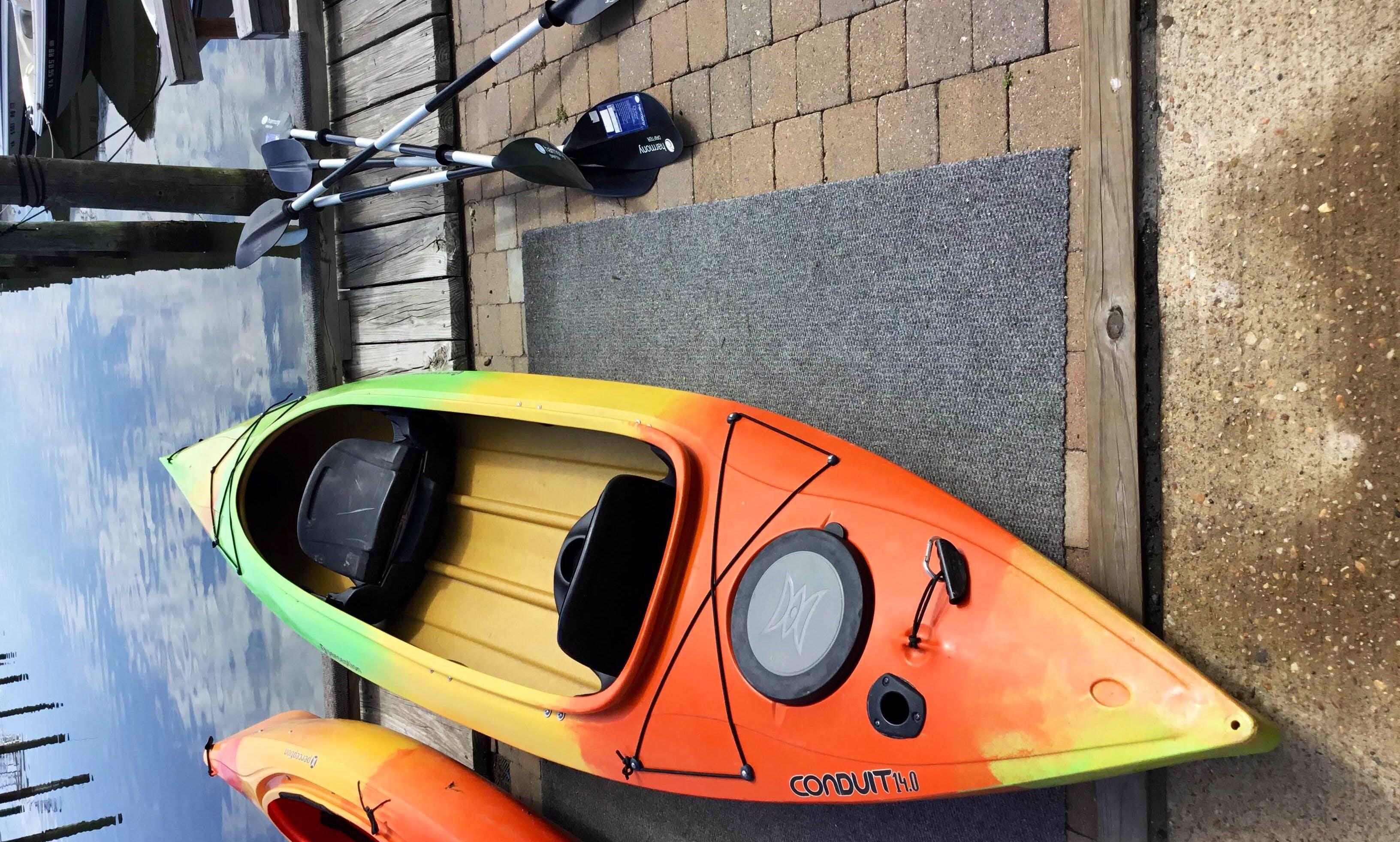 Kayak in Woodbridge, Virginia - let's paddle!