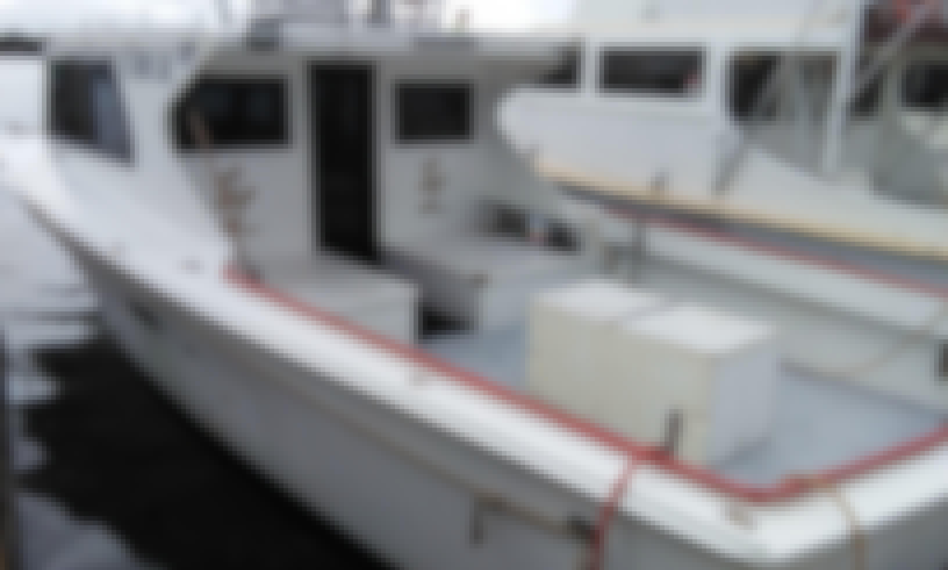 "Fishing Charter On 36ft ""Golden Legacy"" Sports Fisherman Yacht In Panama City Beach, Florida"