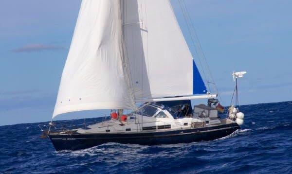 Charter 44' Beneteau Oceanis Cruising Monohull in Vigo, Spain