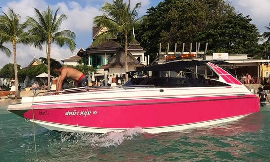 Hit The Water In Ko Samui, Thailand With This Charter Bowrider Experience