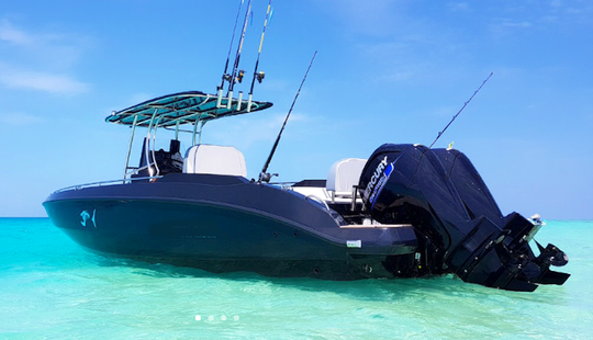 Enjoy Fishing In Malé, Maldives On 26' Center Console