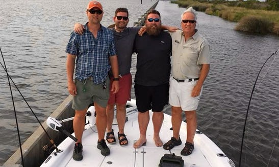 Bayboat Inshore Charter In Lafitte For 5