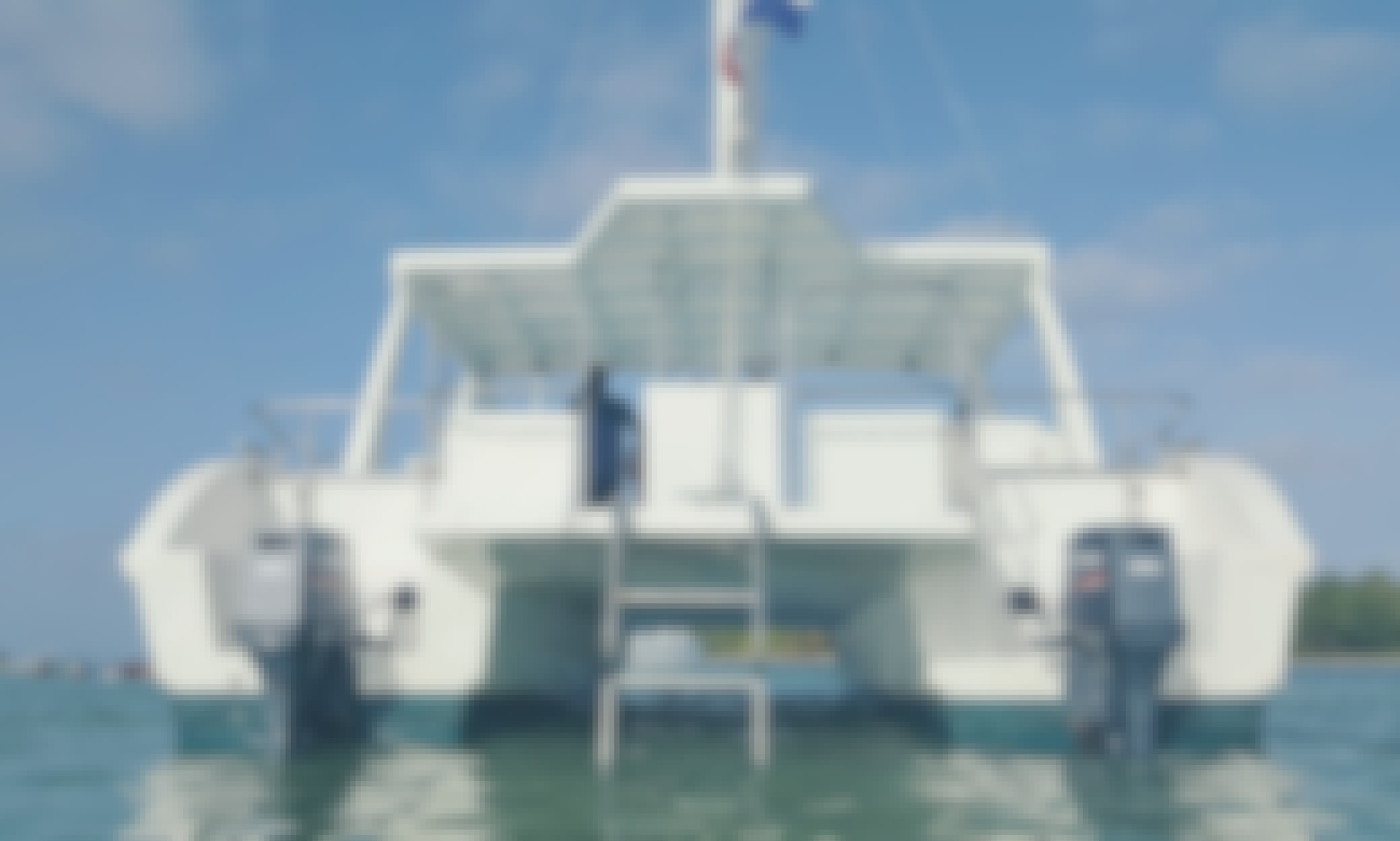 Charter the Power Catamaran in Punta Cana VIP PARTY BOAT-SNORKED-NATURAL POOL EVERYTHING INCLUDED with open bar