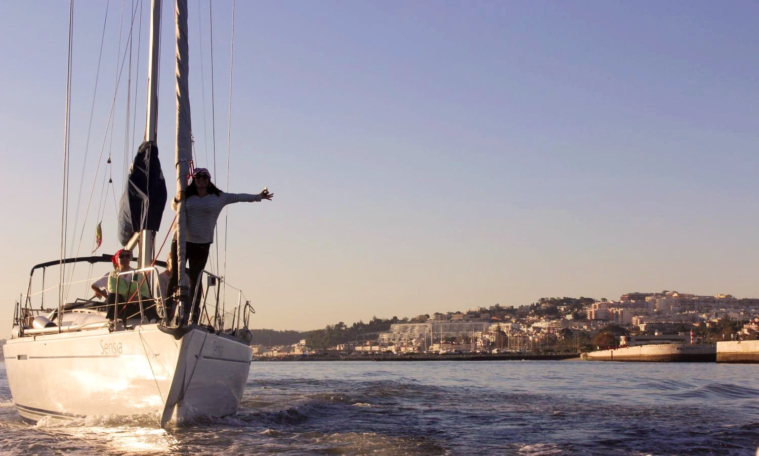 Private Sail along the Tagus River (34ft)