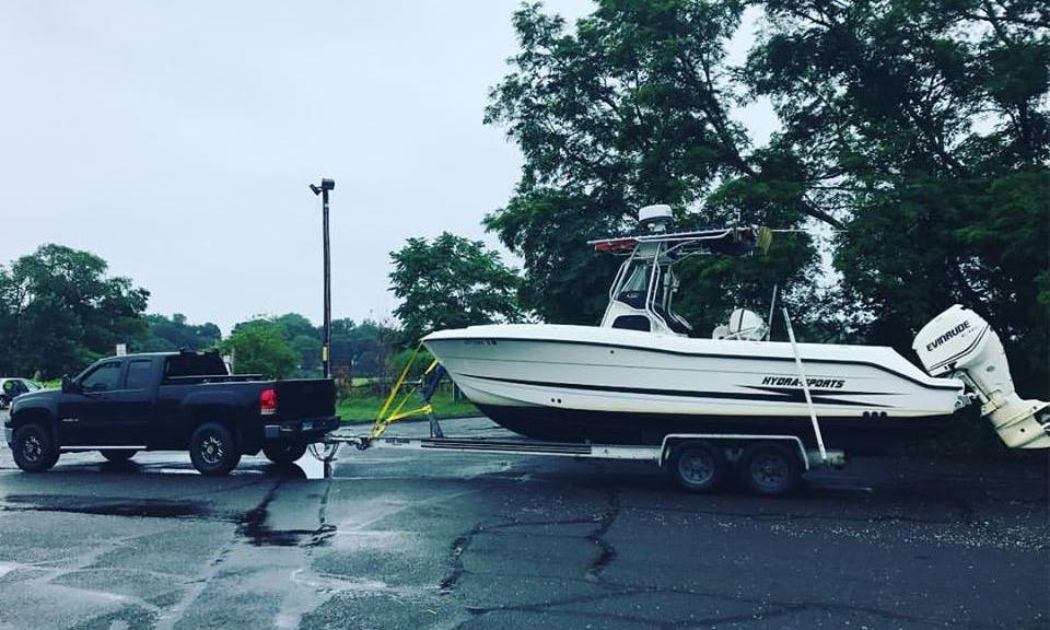 Fishing Charter On Sports Fisherman Yacht In Bridgeport, Connecticut