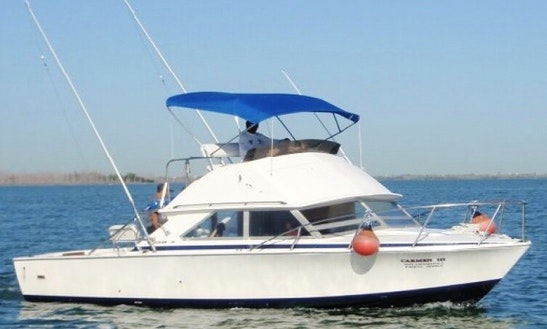 Enjoy Fishing In Cancún, Mexico On 31' Bertram Sport Fisherman