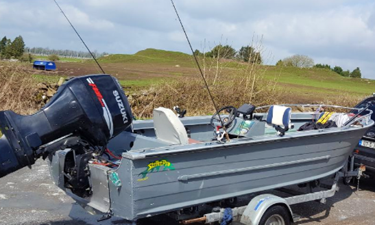 Enjoy Fishing In Galway, Ireland On Jon Boat With Up To 6 Guests