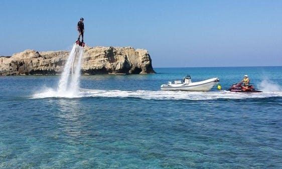 Enjoy Flyboarding in Tropea, Italy